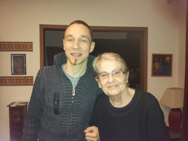 Törőcsik Mari és Kellár F. János Immánuel